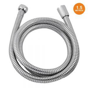 Mangueira Flexível P/ Duche 1.5m Inox - (01210)