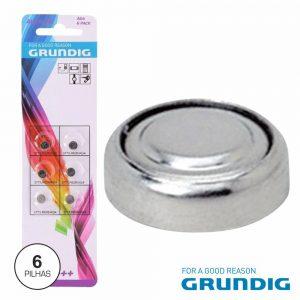 Pilha Botão Ag4/LR626 1.5v 18ma 6x Blister Grundig - (04030G)