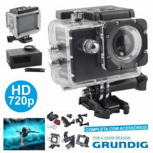 Câmara De Ação HD 720P Grundig - (04883)