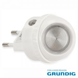Luz De Presença 1 LED Branco 0.4W Rotação 360º 230V Grundig - (06902)