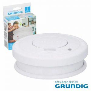 Detetor De Fumos Óptico C/ Alarme Grundig - (07214)