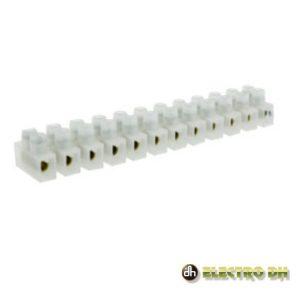 Barra De Junção 12 Cond 6A/15A Sec 1.5mm Branco EDH - (10.777/1.5)