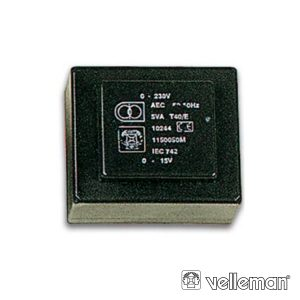 Transformador Encapsulado 0.7va 1x6v 1x0.117A - (1060007M)