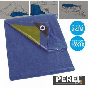 Lona Resistente 2x3m Azul Perel - (110-0203)