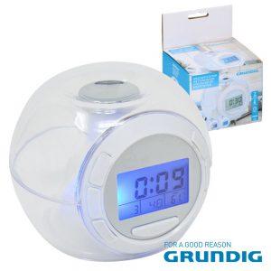 Relógio C/ Sensor De Temperatura Grundig - (11986)