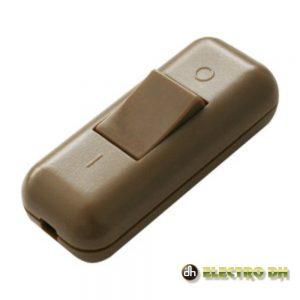 Interruptor De Passagem 2a 250v Dourado Edh - (11.575/D)