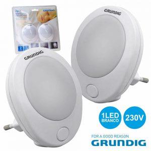 Luz De Presença 1 LED Branco 0.6W 230V Grundig - (13440)