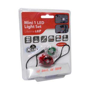 Conjunto De 2 Lanternas LED P/ Bicicleta - (14186)