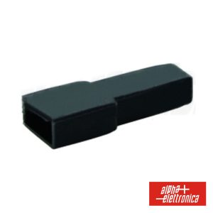Cobertura P/ Terminais Faston 6.35mm Preto - (22-1)