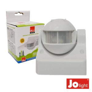Detector De Movimentos Pir De Parede Branco Jolight - (23-104)