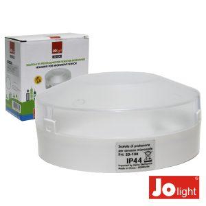 Caixa Plástica P/ Sensor De Movimento Por Microondas - (23-130)