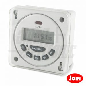Temporizador Digital Semanal 12V JOIN - (23-272)