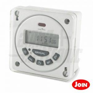 Temporizador Digital Semanal 24V JOIN - (23-274)