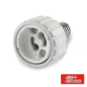 Casquilho Adaptador De E14 P/ GU10 - (23-86)