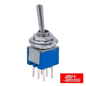 Comutador Alavanca Miniatura On-On Ci - (310-012)