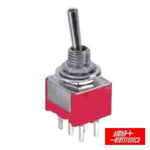 Interruptor Alavanca Miniatura (On)-Off-On Ci - (310-052)