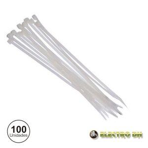 Braçadeira Plástica 250x4.8mm Branco Edh - (31.660/3)