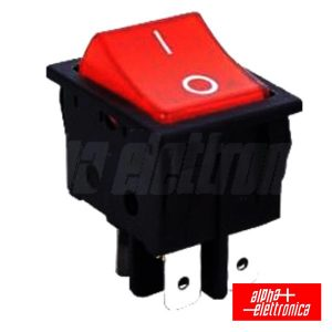 Interruptor Basculante 15a-250v Dpst On-Off - (320-006)