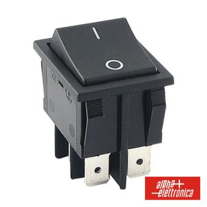 Interruptor Basculante 15a-250v Dpst On-Off - (320-012)