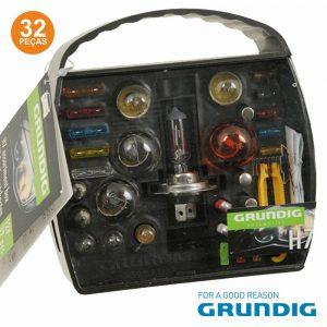 Kit Lâmpadas E Fusíveis P/ Automóvel 12V H7 Grundig - (32730)