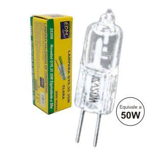 Lâmpada G6.35 50W 12V Halogéneo - (35061)