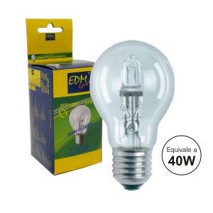 Lâmpada E27 28W=40W 230V Eco-Halog Clássica 370lm - (35310)