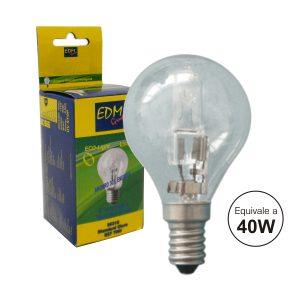 Lâmpada E14 28W=40W 230V Eco-Halog 370lm 2700k - (35315)