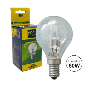 Lâmpada E14 42W=60W 230V Eco-Halog 625lm 2700k - (35316)