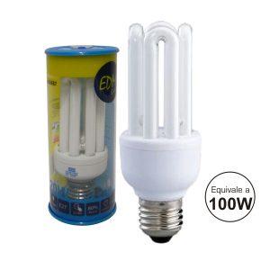 Lâmpada E27 20W=100W 230V Eco 4u 1200lm 6400k - (35687)