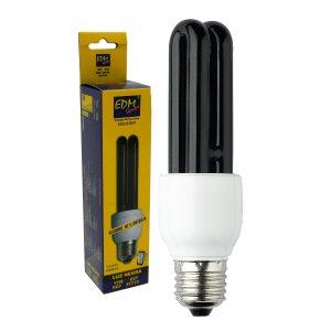 Lâmpada E27 15W 230V Eco 2u Luz Negra - (35735)
