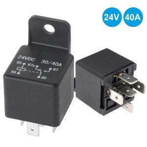 Relé 24Vdc Inversor Unipolar 40a/24V - (4120)