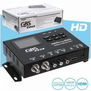 Modulador Av Dvb-T Digital Hd C/ HDMI Gbs - (41979)