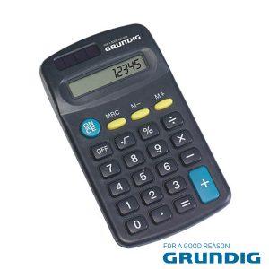 Máquina Calculadora 8 Dígitos Solar Grundig - (46667)