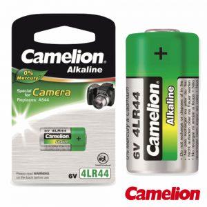Pilha Alcalina 4lr44 6v 165ma Blister CAMELION - (4LRA44-BP1)