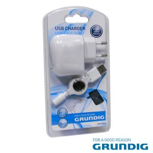 Alimentador Compacto Comutado C/ USB Grundig - (50933)