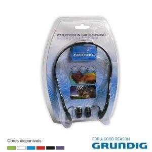 Auscultadores Stereo C/ Fios À Prova De Água Grundig - (51606)
