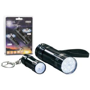 Conjunto 2 Lanternas 9 E 3 LEDS - (52270)