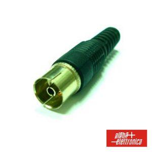 Ficha Coaxial Fémea 9.5mm - (53-82)