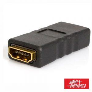 Ficha Adaptadora HDMI Fêmea / Fêmea - (64-579/1)