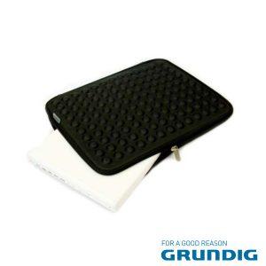 """Bolsa Laptop/Tablet 17"""" Bolhas Preta Grundig - (76679BK)"""