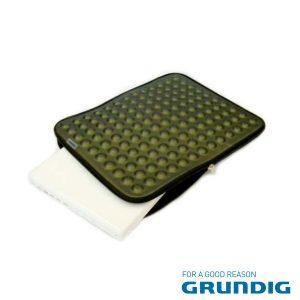 """Bolsa Laptop/Tablet 17"""" Bolhas Verde Grundig - (76679G)"""