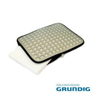 """Bolsa Laptop/Tablet 17"""" Bolhas Cinza Grundig - (76679S)"""