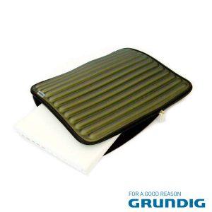 """Bolsa Laptop/Tablet 17"""" Barras Verde Grundig - (76680G)"""