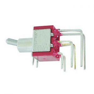 Interruptor Alavanca Dpdt 90° Vertical (On)-Off-(On) - (8022LAE)