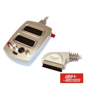 Distribuidor Comutador Scart M / 2scart-3rca-Svhs F - (92-731A)
