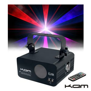 Laser Multicor (Rbp) DMX Com Comando Kam - (9267-1)
