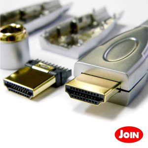 Ficha HDMI Macho P/ Soldar - (93-3)