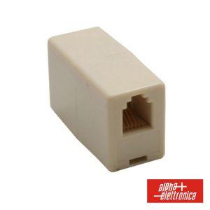 Adaptador De Telefone 4p4c 1fêmea / 1fêmea - (94-411)