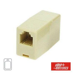 Adaptador De Telefone 6p6c RJ12 1fêmea/1fêmea Blister - (94-412S)
