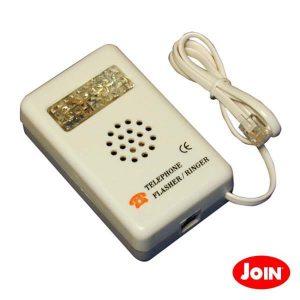 Adaptador De Telefone Sinal Alerta Acústico E Visível - (94-535)